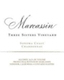 Marcassin Three Sisters Chardonnay - label