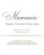 Marcassin Three Sisters Chardonnay - label
