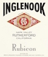 Inglenook Rubicon - label