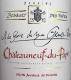 Domaine Bosquet des Papes Châteauneuf-du-Pape A la Gloire de mon Grand-Père - label