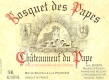 Domaine Bosquet des Papes Châteauneuf-du-Pape  - label