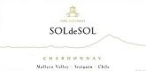 Viña Aquitania Sol de Sol Chardonnay - label