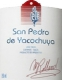 San Pedro de Yacochuya Yacochuya Malbec - label