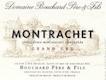 Bouchard Père et Fils Montrachet Grand Cru  - label