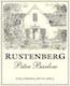 Rustenberg Peter Barlow Cabernet Sauvignon - label