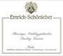 Weingut Emrich-Schönleber Monzinger Halenberg Riesling Eiswein - label