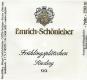 Weingut Emrich-Schönleber Monzinger Frühlingsplätzchen Riesling Trocken Grosses Gewächs - label