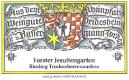 Bassermann-Jordan Forster Jesuitengarten Riesling TBA - label