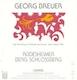 Georg Breuer Rüdesheimer Berg Schlossberg Riesling Trocken - label