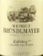 Weingut Bründlmayer Grüner Veltliner Käferberg Reserve - label