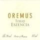 Oremus Tokaj  Eszencia - label