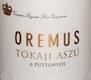 Oremus Tokaj  Aszú 6 Puttonyos - label