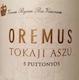 Oremus Tokaj  Aszú 5 Puttonyos - label