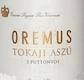 Oremus Tokaj  Aszú 3 Puttonyos - label