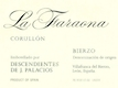 Descendientes de José Palacios La Faraona - label