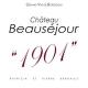 Château Beauséjour 1901 - label