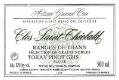 Domaine Schoffit Pinot Gris Rangen de Thann Clos Saint-Théobald SGN Grand Cru - label