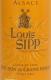 Louis Sipp Pinot Gris Coeur de Tries SGN - label