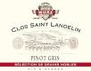 Domaine du Clos St Landelin - Véronique et Thomas Muré Pinot Gris Vorbourg SGN Grand Cru - label