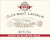 Domaine du Clos St Landelin - Véronique et Thomas Muré Riesling Vorbourg SGN Grand Cru - label