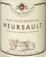 Bouchard Père et Fils Meursault  - label