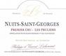 Domaine Lecheneaut Nuits-Saint-Georges Premier Cru Les Pruliers - label