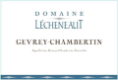 Domaine Lecheneaut Gevrey-Chambertin  - label