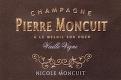 Pierre Moncuit Cuvée Nicole Moncuit Blanc de Blancs Vieilles Vignes Grand Cru - label