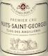 Bouchard Père et Fils Nuits-Saint-Georges Premier Cru Clos des Argillières - label