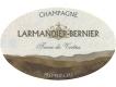 Larmandier-Bernier Terre de Vertus Blanc de Blancs Non-Dosé Premier Cru - label