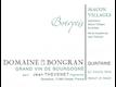 Domaine de la Bongran (Thévenet) Mâcon-Villages Cuvée Botrytis - label