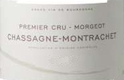 Domaine Bruno Colin Chassagne-Montrachet Premier Cru Morgeot - label