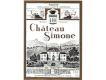 Château Simone Palette Rosé - label