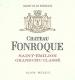 Château Fonroque  Grand Cru Classé - label