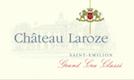 Château Laroze  Grand Cru Classé - label