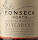 Fonseca Porto  20 Year Old Tawny Port - label