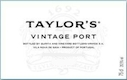 Taylor's Porto  Vintage Port - label