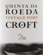 Croft Porto Quinta do Roeda Vintage Port - label
