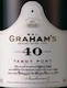 Graham's Porto  40 Year Old Tawny Port - label