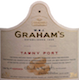 Graham's Porto  30 Year Old Tawny Port - label