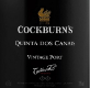 Cockburn's Porto Quinta Dos Canais Port - label