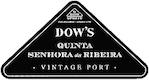 Dow's Porto Quinta da Senhora da Ribeira Vintage Port - label