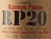 Ramos Pinto Porto Quinta do Bom Retiro 20 Year Old Tawny Port - label