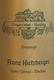 Franz Hirtzberger Riesling Singerriedel Smaragd - label