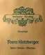 Franz Hirtzberger Riesling Hochrain Smaragd - label