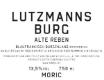 Moric Blaufrankisch Alte Reben Lutzmannsburg - label