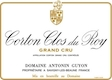Domaine Antonin Guyon Corton Grand Cru Clos du Roy - label