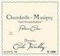 Domaine Cécile Tremblay Chambolle-Musigny Premier Cru Les Feusselottes - label