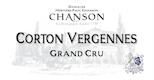 Chanson Père et Fils Corton Grand Cru Vergennes - label