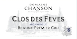 Chanson Père et Fils Beaune Premier Cru Clos des Fèves - label